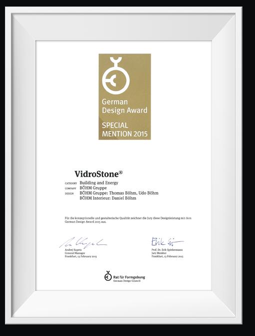 vidrostone-spezifikationen-start-urkunde